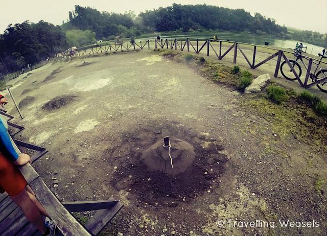 Vulkanischer See Cozido