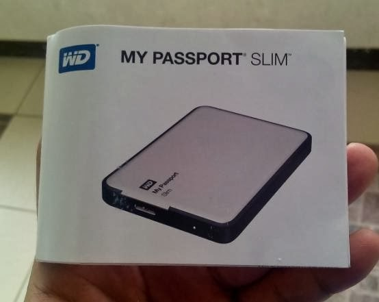 Western Digital My Passport Slim Quick Install Guide