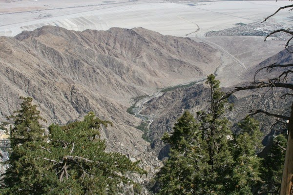 Palm Springs aerial tramway Chino Canyon