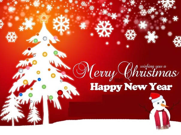 Animated Merry Christmas 2015 and New Year 2016 HD ...