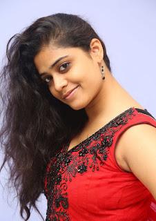 Actress Samatha Pictures in Red Chudidar at Sahasam seyara dimbaka Audio Launch  7.jpg