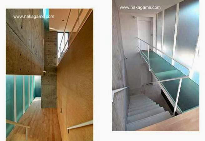 Espacios interiores de la moderna casa contemporánea japonesa
