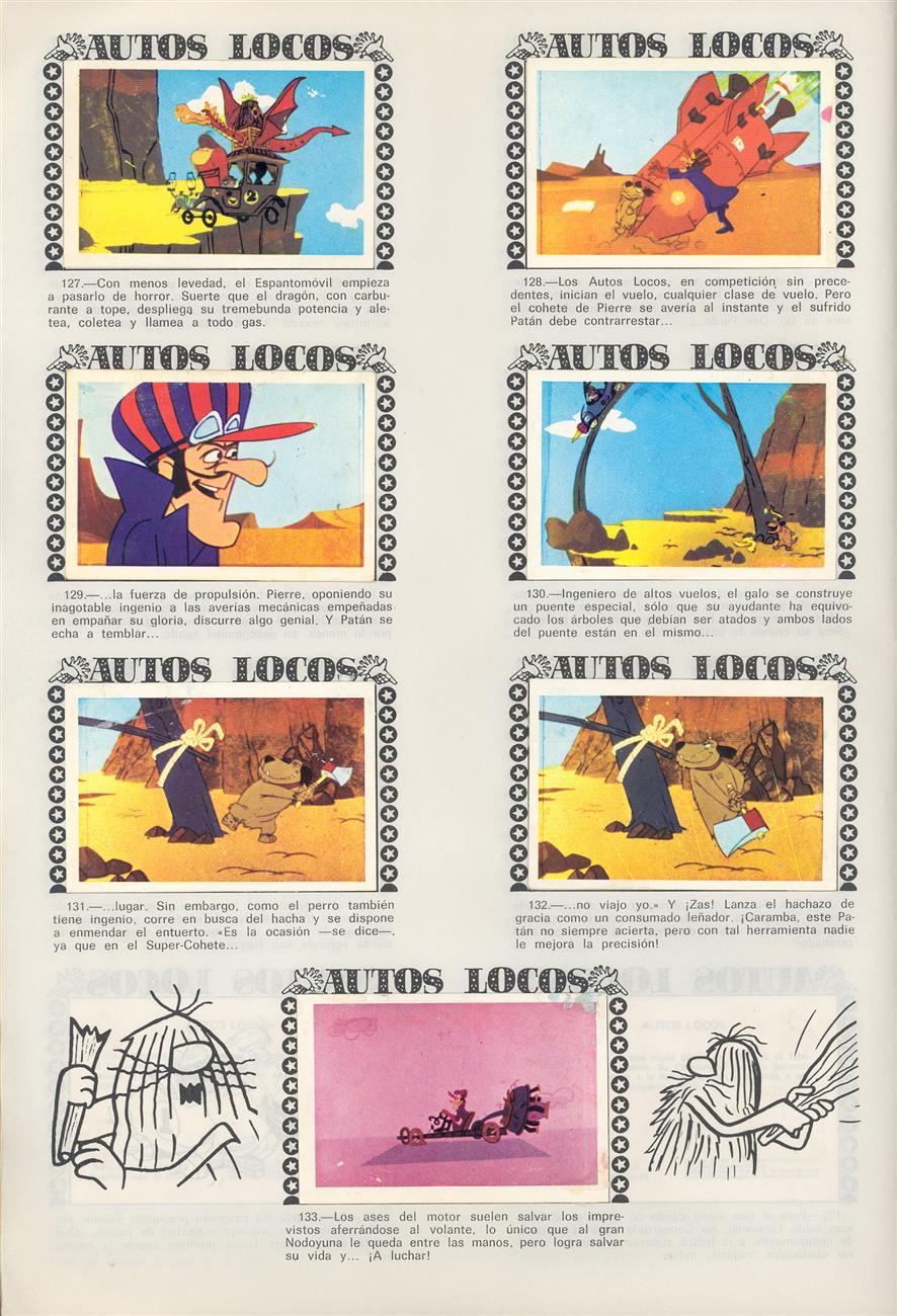 Álbum Hanna-Barbera - Autos locos (1972)