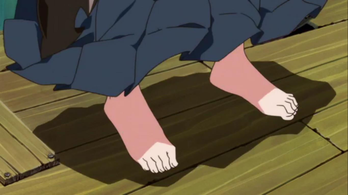 6 Foot Anime Characters : Anime feet kill la ryuko matoi