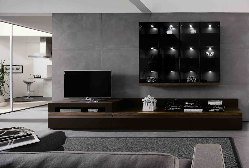 TV Wall Unit Living Room Design