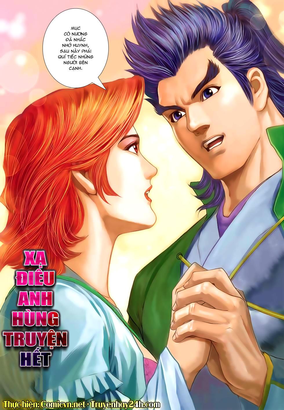 Xạ Điêu Anh Hùng Truyện chap 100 – End Trang 33 - Mangak.info