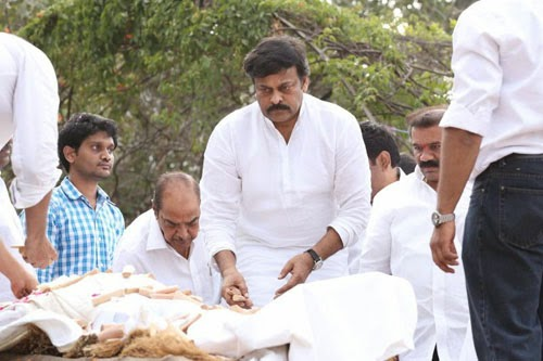 Akkineni Nageswara Rao Last Rites Photos