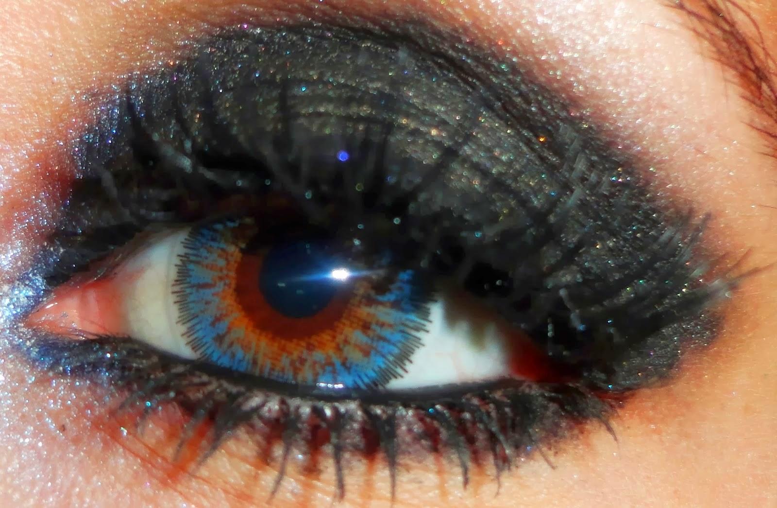 Beuberry Kiwi Aqua,Solone Fantasy Eyeliner,