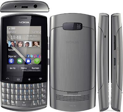 Nokia Asha 303 HP Nokia TouchScreen Murah
