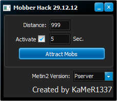 Metin2PvPMobberHack Metin2 Hile GameForge ve Pvpserver Mobber Cekme Botu indir