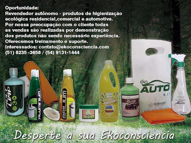 Ekobrazil Oportunidade renda extra Limpeza Ecológica