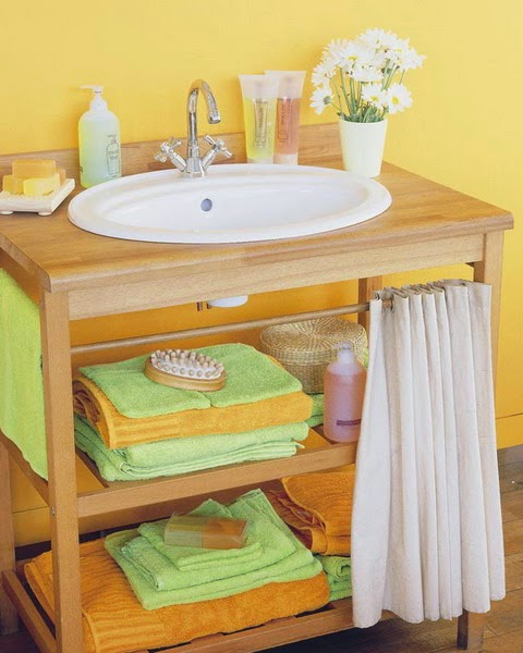 Small Space Bathroom Design Ideas: 31 Creative Storage Ideas For A Small Bathroom