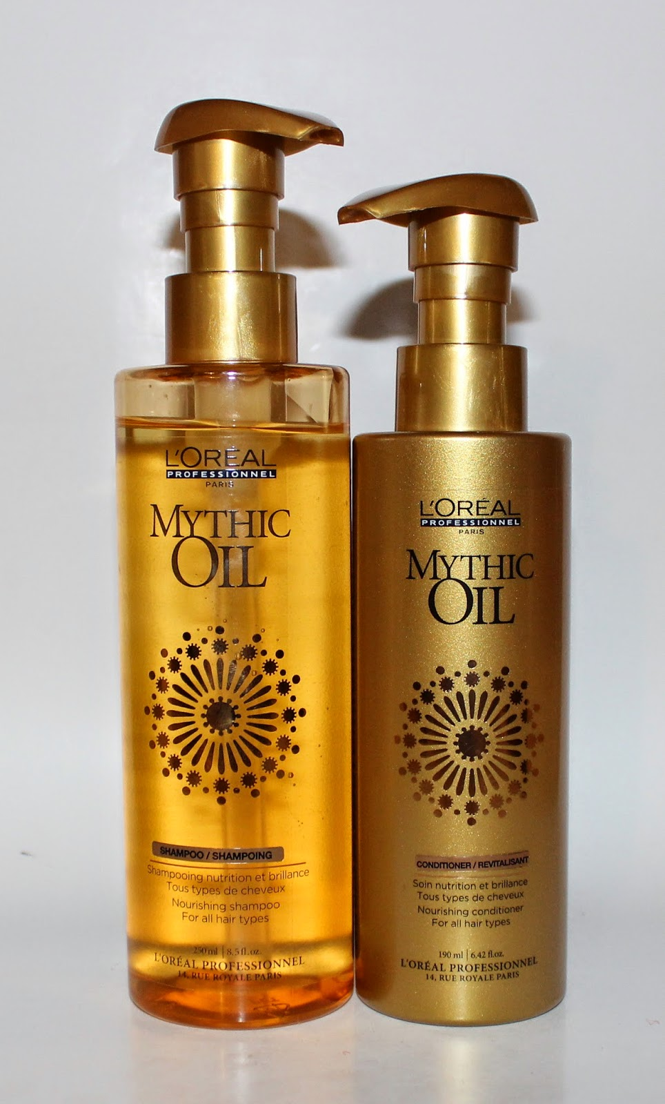 L'Oréal Professional Mythic Oil Nourishing Shampoo & Conditioner