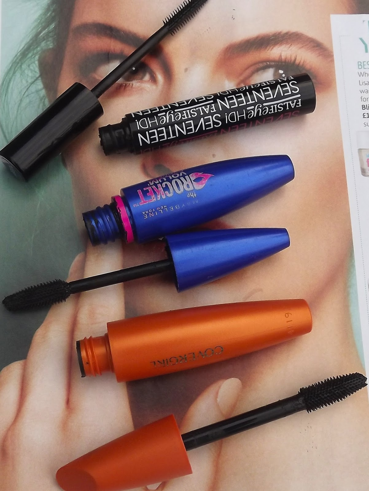 The Beauty Load Beauty Blog Uk The Best Mascaras For Short Lashes