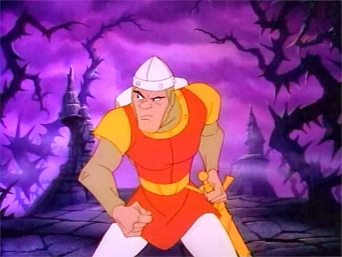 Dirk Daring from Dragon's Lair