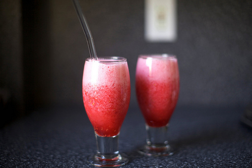 Pink Margarita Slushes Recipe — Dishmaps