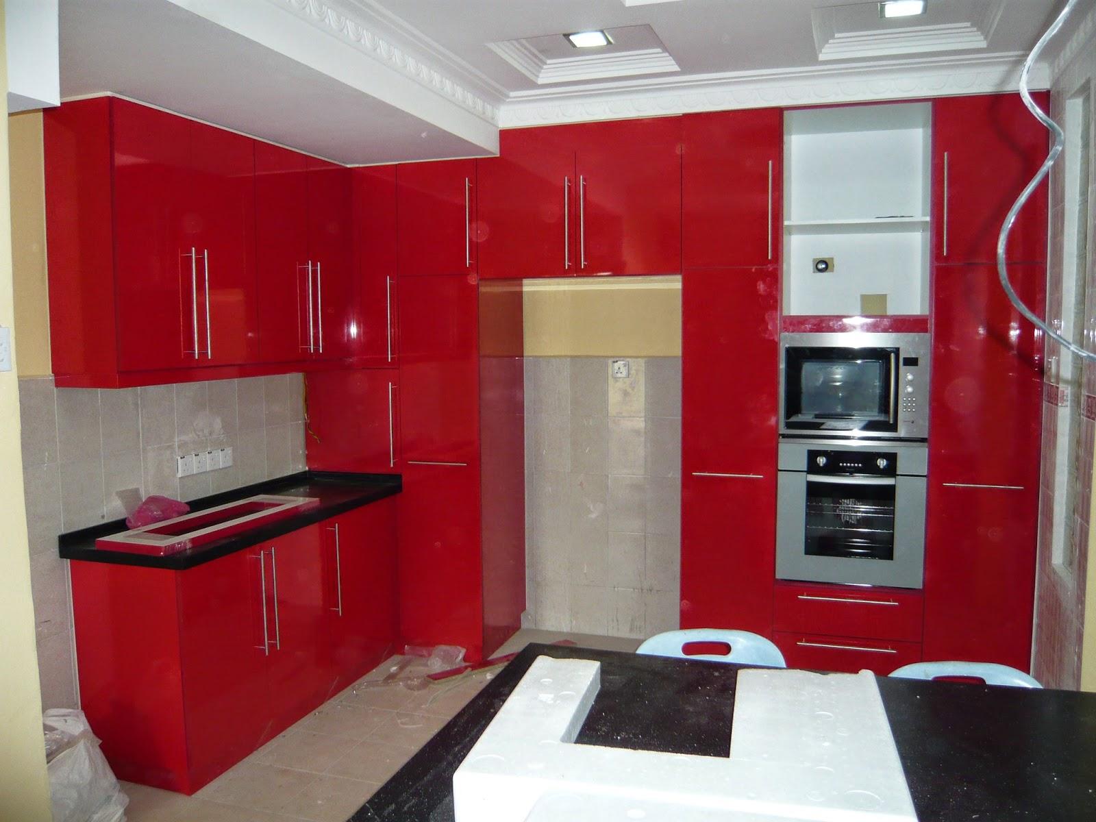 perlengkapan dapur minimalis
