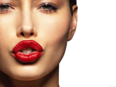 bibir wanita seksi