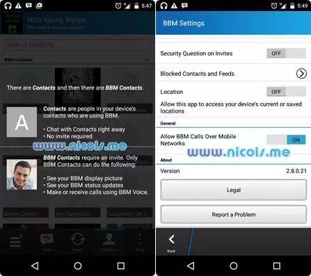 Download BBM Apk for Android -Latest Version