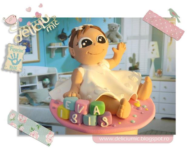 Figurine tort botez