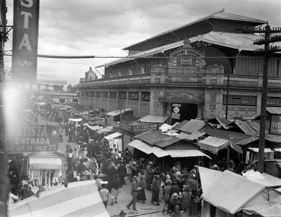 El antiguo Mercado de la Lagunilla