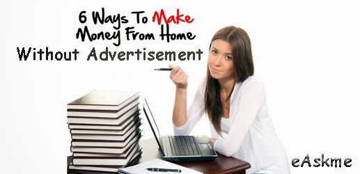 How to Make Money from Bog Without Advertisements : eAskme
