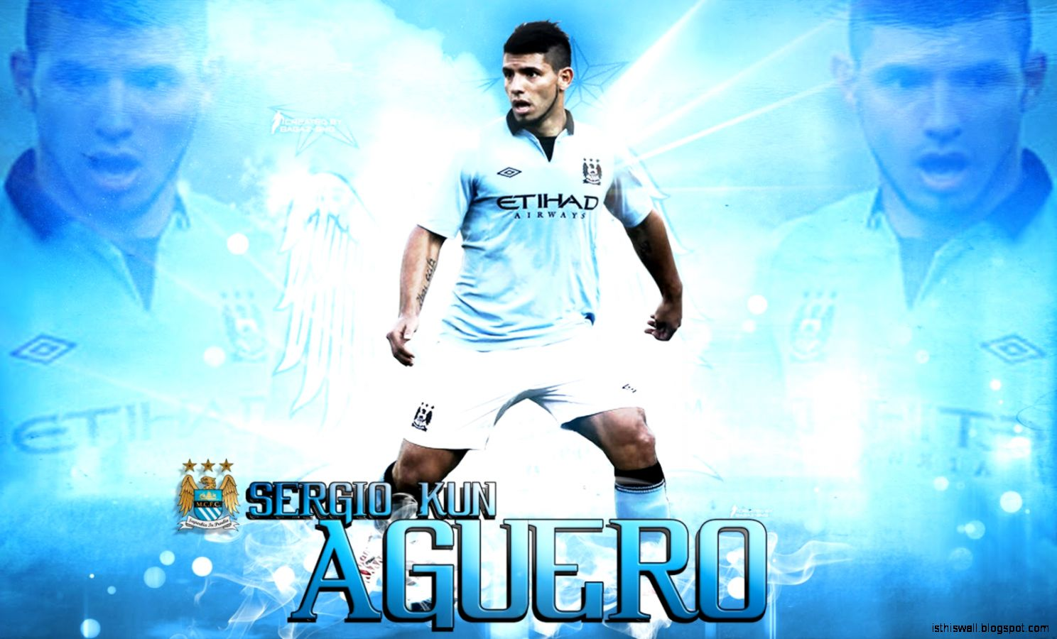 sergio aguero manchester city wallpaper this wallpapers