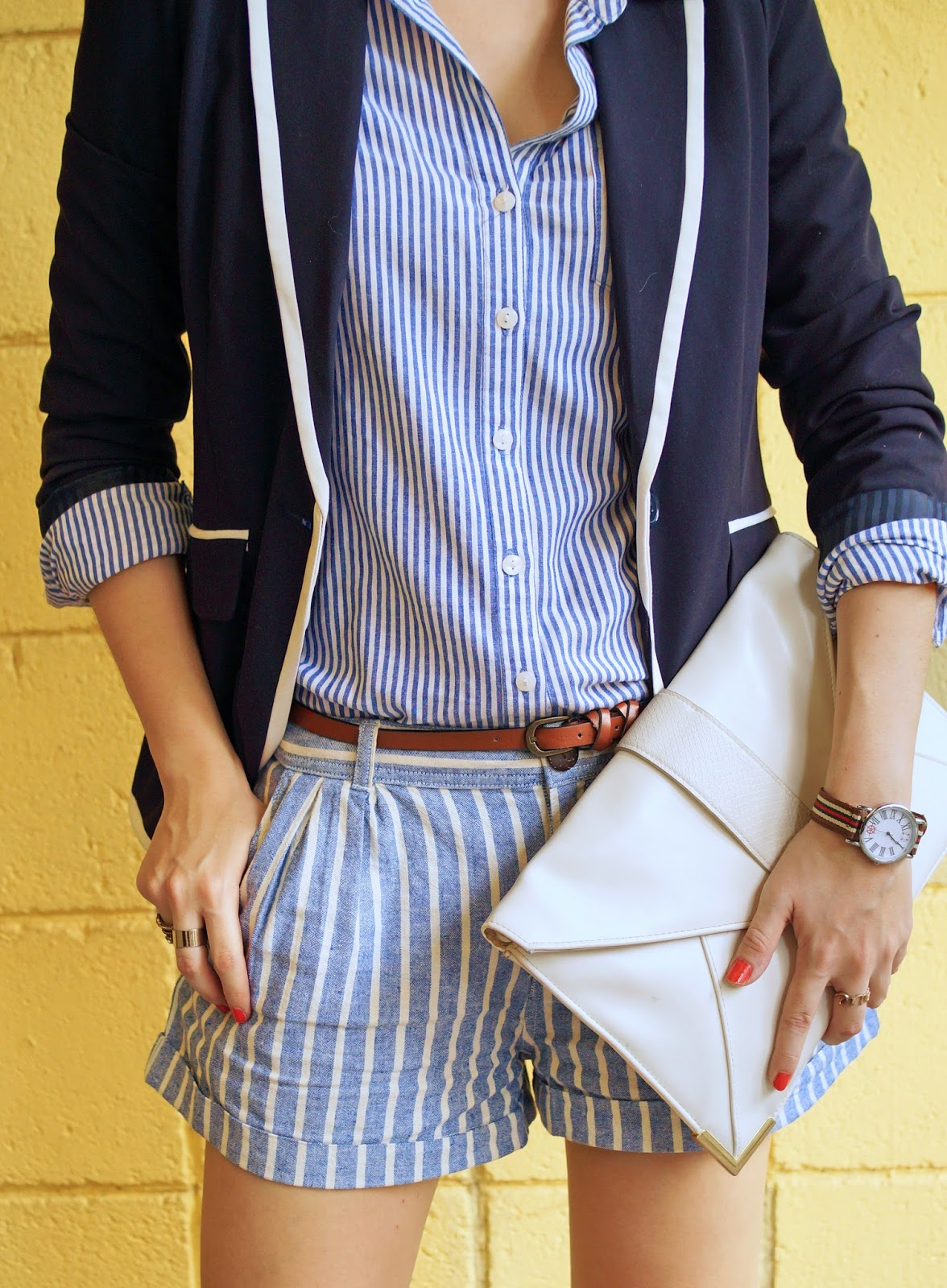 Cute Preppy and Polished Outfit