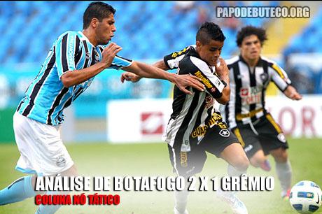 Botafogo 2 x 1 Grêmio pela sexta rodada do Campeonato Brasileiro