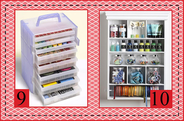 on the Wall: More Fun Ideas for Organizing your Crafts and Craft Room 640 x 421