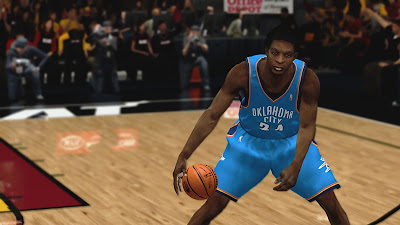 NBA 2K13 Hasheem Thabeet Hair Update NBA2K Mods