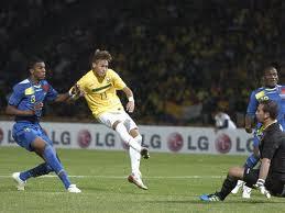 neymar hace dos goles ante ecuador