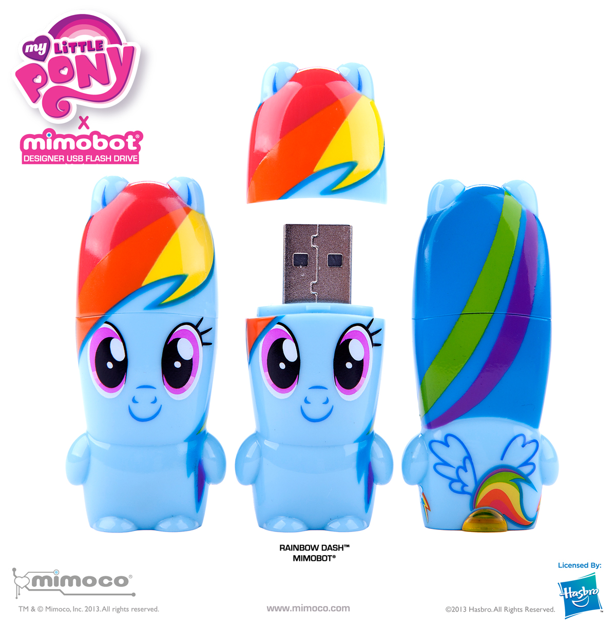 rainbow dash is so fast she gives mimoco s high