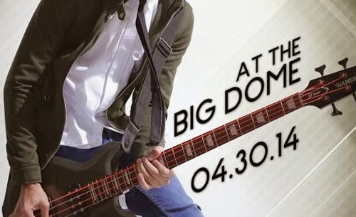 Daniel Padilla stges first major concert at the Big Dome