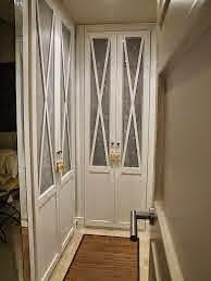 Aprovechar el pasillo para hacer un vestido con puertas