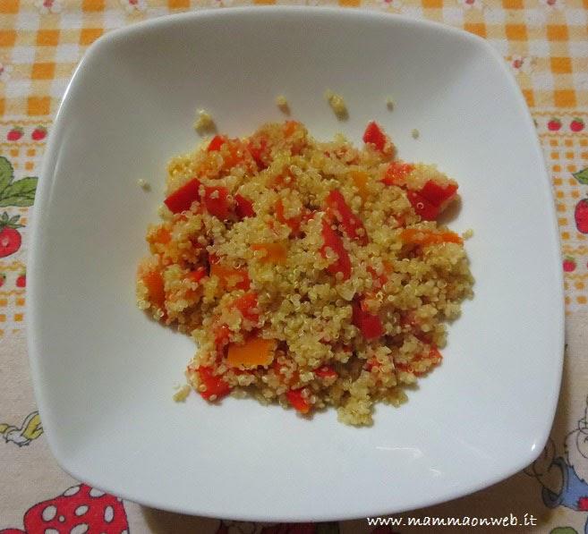 ricette quinoa e verdure