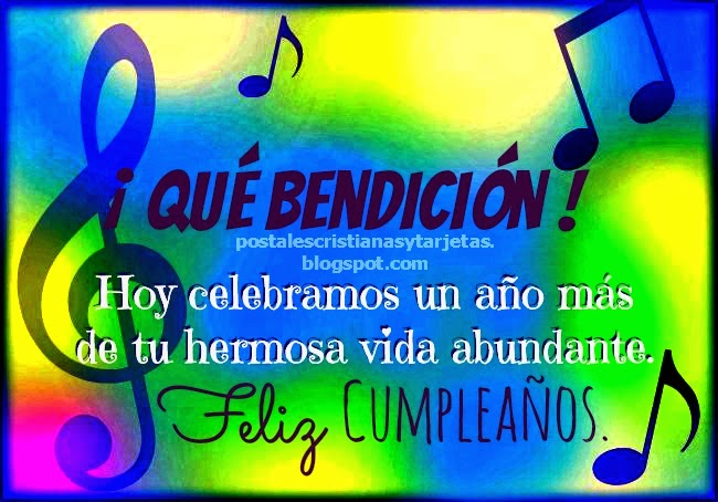 Que Bendición es tu Cumpleaños Feliz,mensaje cristiano cumpleaños  tarjetas cristianas, postales de cumpleaños para hombre, mujer, niños, jóvenes, juveniles, para felicitar cumpleaños feliz de amigo amiga, adolescente. Imágenes gratis de cumpleaños.