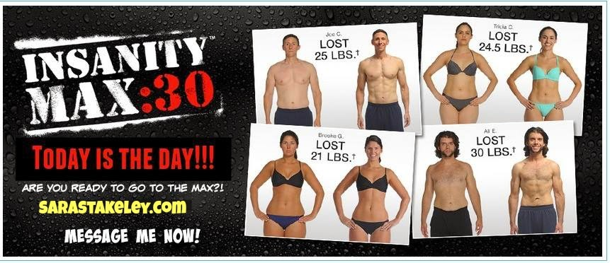 Sara Stakeley, Sarastakeley.com, Insanity Max 30, Exclusive test group for Insanity Max 30, Support with Insanity Max 30, What is Insanity Max 30, Meal plans, accountability ,