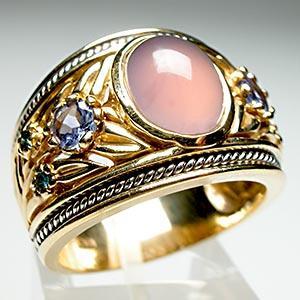 Tanzanite Band Ring Diamond