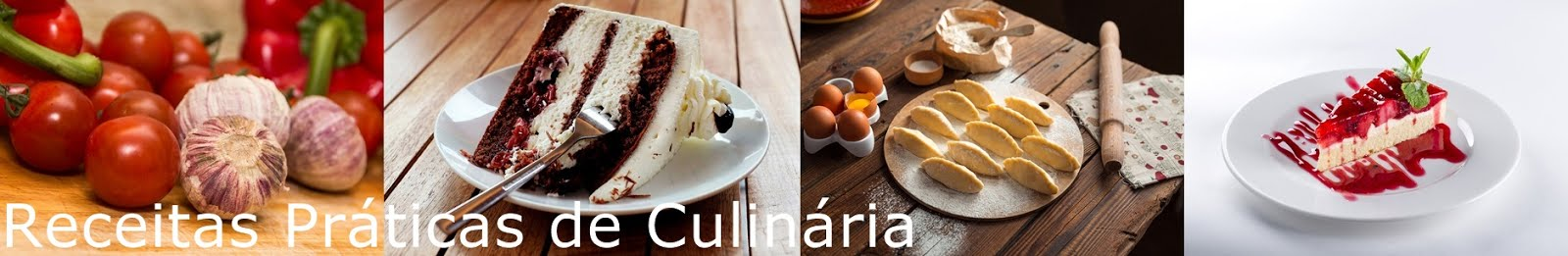 Receitas práticas de culinária