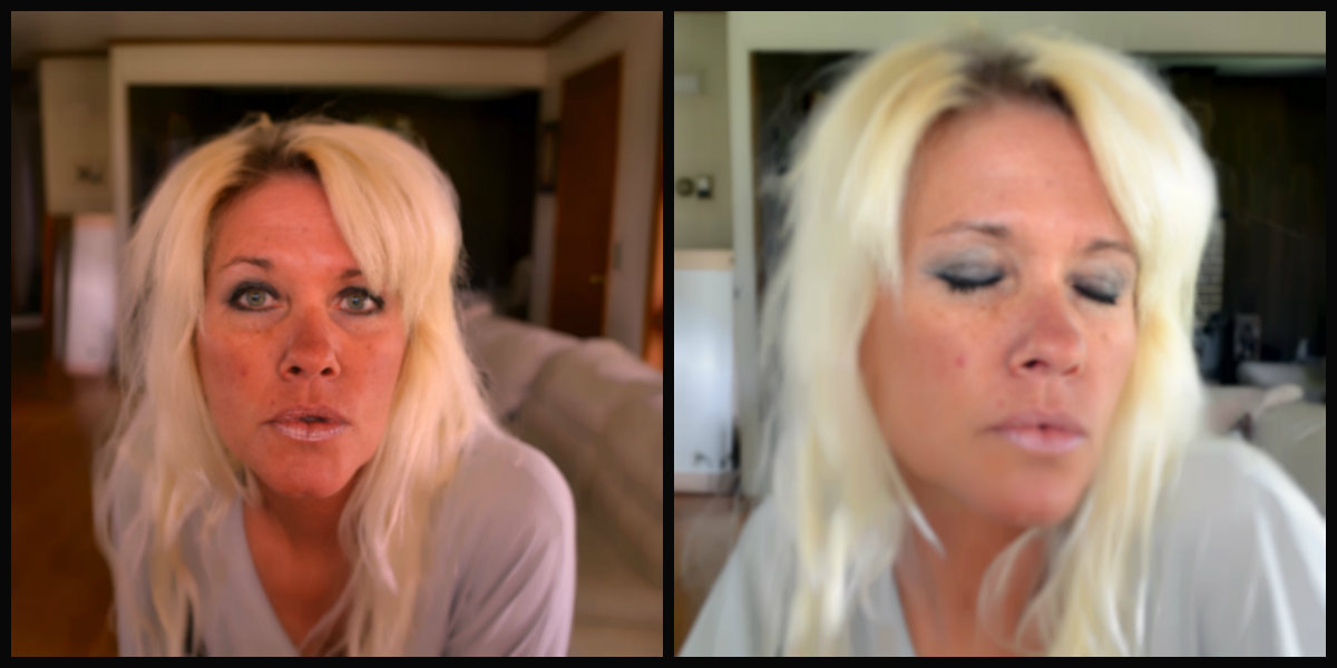 elf cosmetics makeover