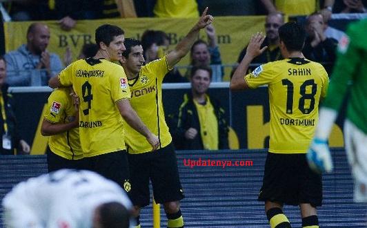 Borussia Dortmund vs Eintracht Braunschweig