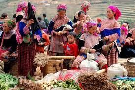 Bac Ha market tour on Sunday