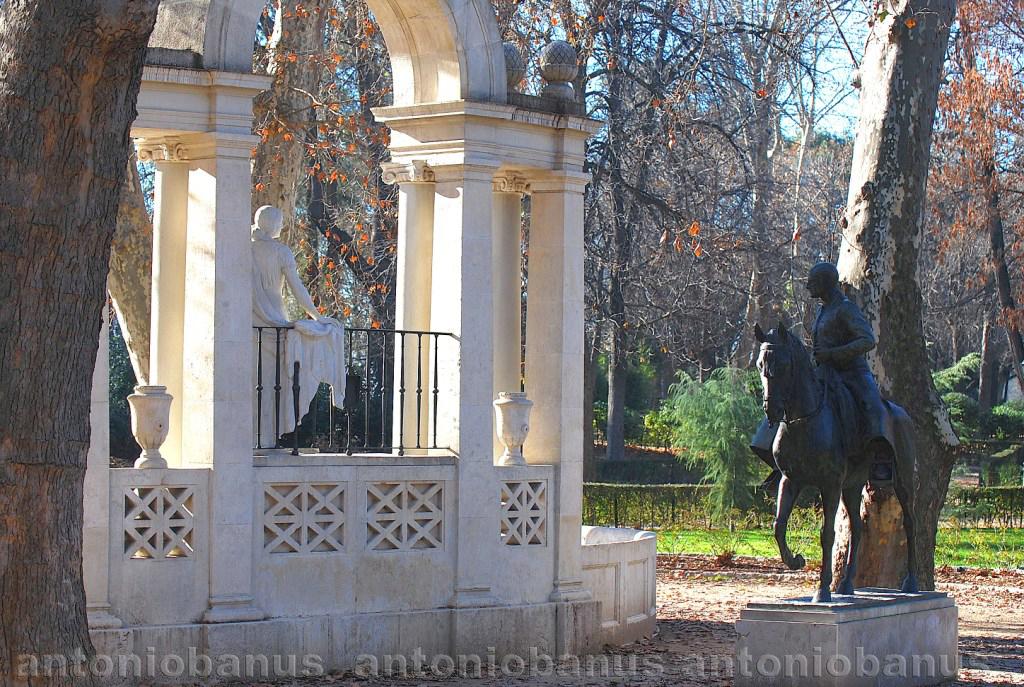 Aprendiendo Con La Vista Estatuas Y Fuentes Del Parque Del Buen Retiro De Madrid I