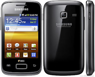 Android Dual SIM Phones : Samsung Galaxy Y Duos