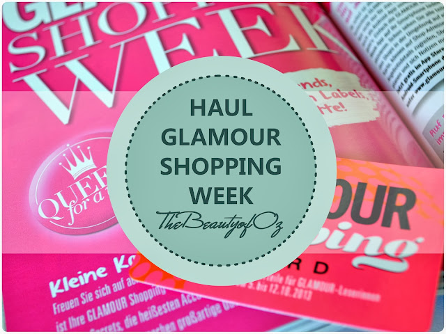 Haul - Glamour Shopping Week Herbst 2013