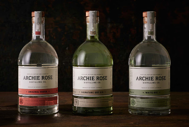 Archie Rose Distilling Co On Packaging Of The World