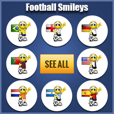 Football emoticons for Facebook