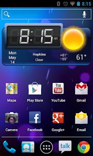 ICS Home Screen