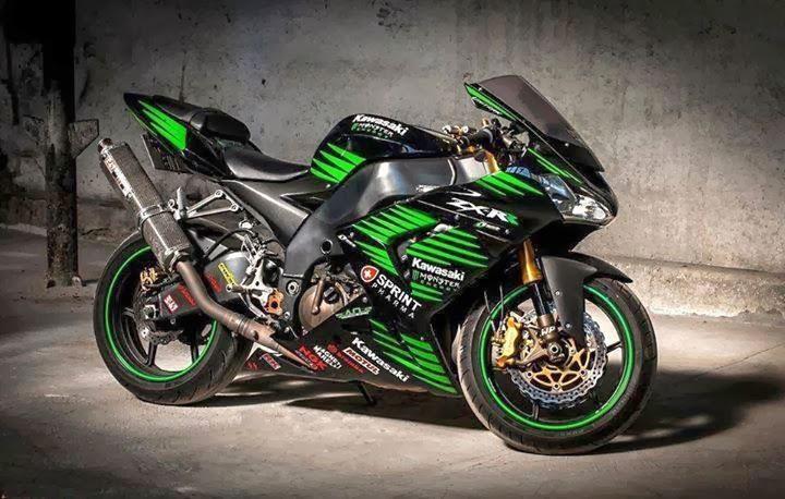 Gambar Motor Sport Kawasaki